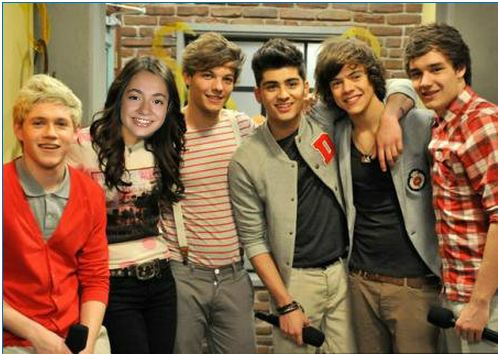 Me with One Direction!